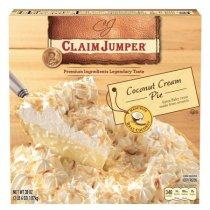 Claim Jumper Coconut Cream Pie